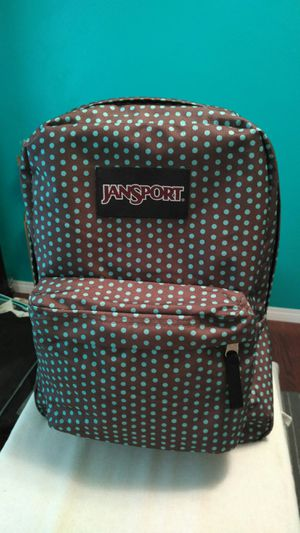 Jansport backpack Aqua & brown for Sale in Bonita, CA