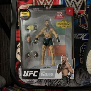 UFC Conor McGregor Limited Edition Action Figure for Sale in Glendora, CA