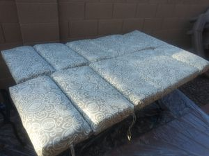 Outdoor pool lounger cushions for Sale in Surprise, AZ