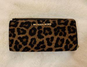 Michael Kors Leopard Wallet for Sale in Dallas, TX