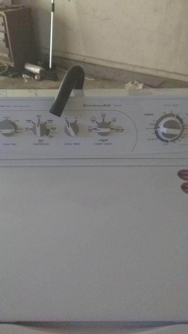Kitchenaid Superba Heavy Duty Super Capacity Plus Washing