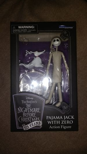 Nightmare before Christmas figure Pajama Jack for Sale in Phoenix, AZ