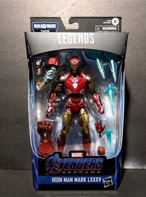 Marvel Legends Iron Man Mark LXXXV Collectible Action Figure with Fat Thor Build a Figure Piece for Sale in Chicago, IL