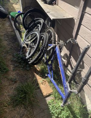 Mountain bike frame rims and tires for Sale in Oakley, CA