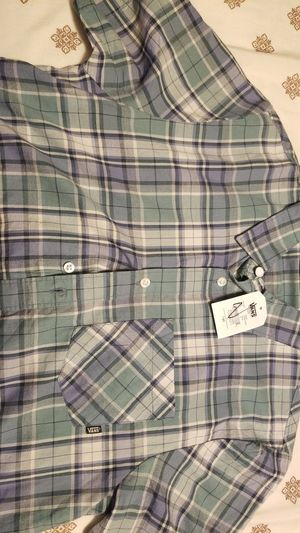 Van's short sleeve button up for Sale in Millville, NJ
