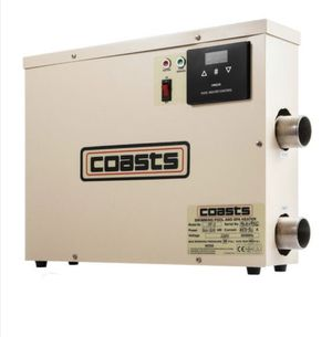 Coast 11KW 220V Pool Heater Thermostat Swimming Pool SPA Electric Water Heater Pump for Sale in Rancho Cucamonga, CA