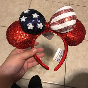 Disney Mini Mouse USA EARS for Sale in Davenport, FL