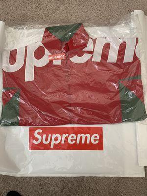 Supreme Side Logo Track Jacket Medium Red for Sale in Eastvale, CA