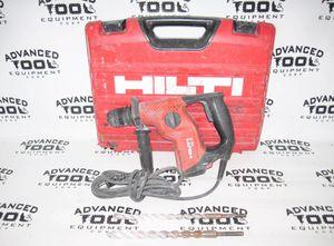 Hilti TE 7 Rotary Hammer Concrete Masonary Stone Drill with 2x Drill Bits & Case for Sale in Hialeah, FL