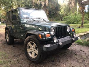 2001 Jeep Wrangler for Sale in Zolfo Springs, FL