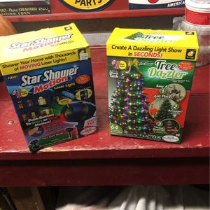 Star shower motion and tree dazzler for Sale in Little Ferry, NJ