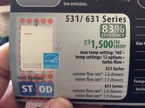 Noritz Tankless water heater used, works $375 for Sale in Fresno, CA