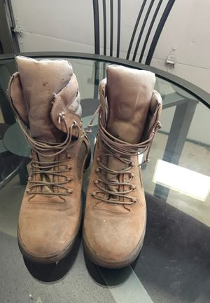 Used Reebok Military Boots size 9.5 for Sale in Jacksonville, FL