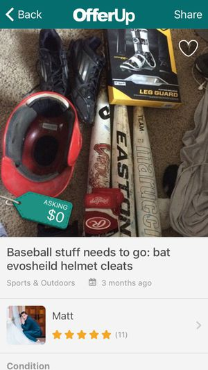 Baseball bats 33/30 for Sale in Murrieta, CA