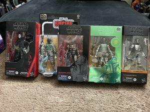 Star Wars black series for Sale in Fontana, CA