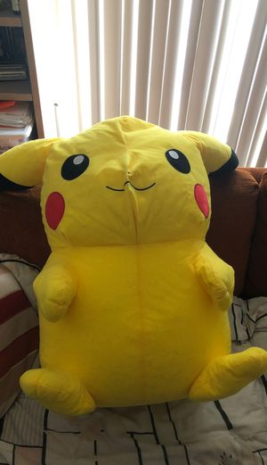Giant ass pikachu doll for Sale in San Francisco, CA