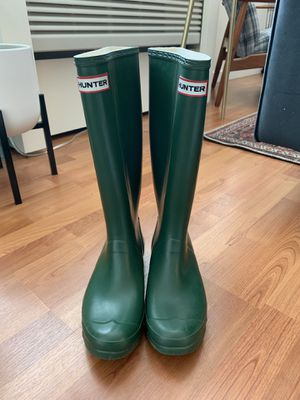 Women's Huntress Widecalf Rain boots - Green for Sale in Portland, OR