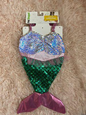 medium/large dog/ pet mermaid costume for Sale in San Antonio, TX