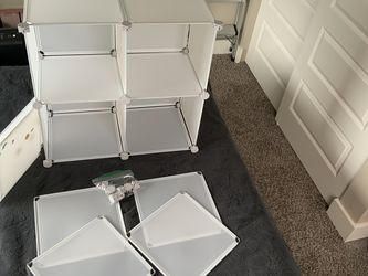 Cube Storage Stackable Shelving for Sale in Seattle,  WA