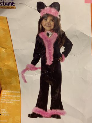 Pretty kitty costume Toddler Size 3-4 🐱 for Sale in San Diego, CA