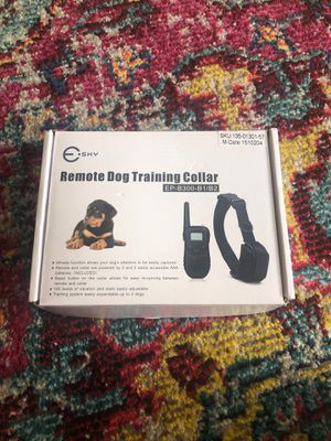 Never used Dog Training Shock Collar for Sale in Washington, DC