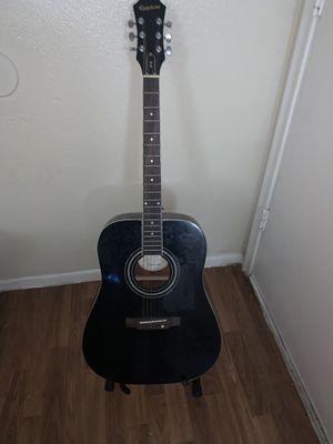 Epiphone Black Guitar for Sale in Mesa, AZ