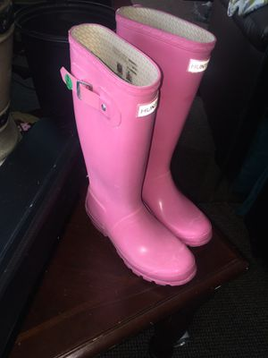 Rain boots $45 size 4/5 for Sale in Buffalo, NY