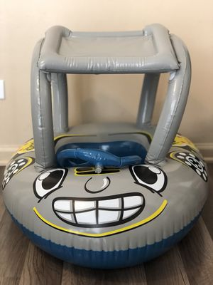 Baby water boat inflatable with canopy for Sale in Plainfield, IL
