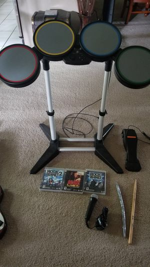PS3 Rockband bundle for Sale in Strongsville, OH