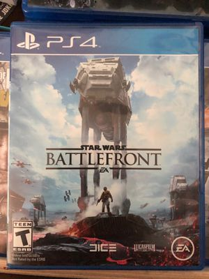 Star Wars Battlefront PS4 game for Sale in Mountain View, CA