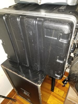 DJ Raod case with tray and lights for Sale in Providence, RI