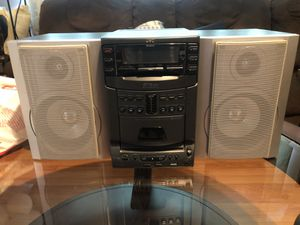 JVC Stereo System for Sale in Santa Ana, CA