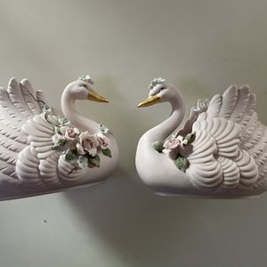 Pottery Swan Pair for Sale in Irvine, CA