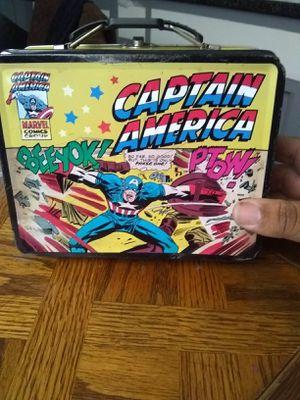 Captain America pail for Sale in Bassett, CA
