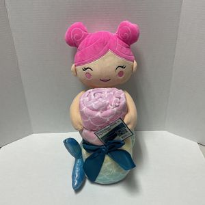 Huggable Plush & Throw Mermaid Set NEW for Sale in Fort Lauderdale, FL