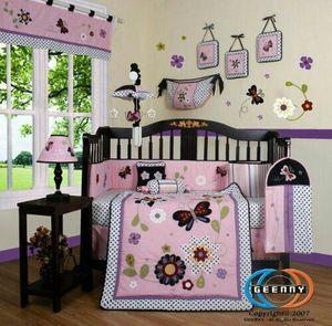Daisy garden 13 piece crib bedding set for Sale for sale  New Brunswick, NJ