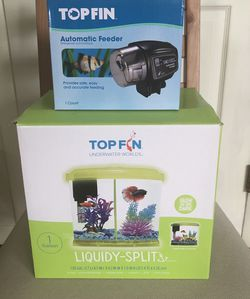 Fish Tank And Automatic Feeder for Sale in Cranford,  NJ