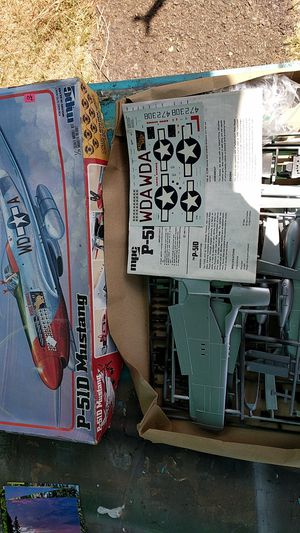 1:24 scale P-51D mustang from MPC for Sale in Vancouver, WA