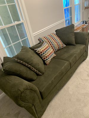Fairly used Green sofa for Sale in Pikesville, MD