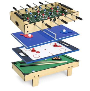🔥Brand New 4-in-1 Combo Game Set w/ Billiards, Foos ball, Ping Pong, & More for Sale in Las Vegas, NV