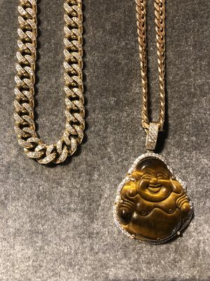 Cuban line 10k gold chains for sale for Sale in Bensalem, PA