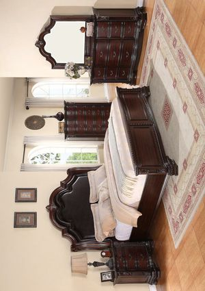 🚚3-6 days delivery🚚Sheffield Espresso Panel Bedroom Set [FREE CHEST] for Sale in Jessup, MD