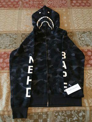 Bape nhbd shark hoodie for Sale in Beverly Hills, CA