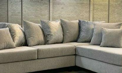 Dora Dove Sectional Sofa 110 VENDORHAPPY HOMES for Sale in Houston,  TX