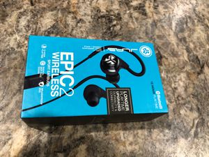 Jlab Audio Epic2 Bluetooth 4.0 Wireless Sport Earbuds for Sale in Lino Lakes, MN