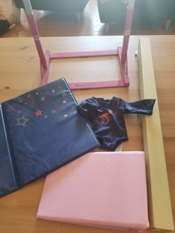 American Girl Gymnastics bars and beam set for Sale in Middletown,  RI