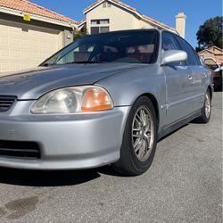 97' Honda Civic 5 Speed for Sale in Fontana,  CA