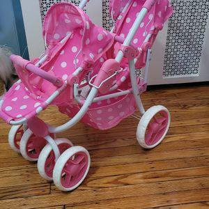 Doll Double Twin Stroller Toy for Sale in Philadelphia, PA