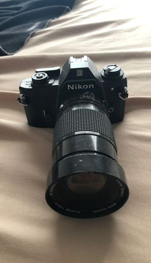 Nikon Camera with film for Sale in Webster, TX