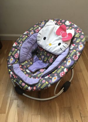 Hello Kitty Pin Wheel Trend Bouncer by Baby Trend for Sale in Staten Island, NY